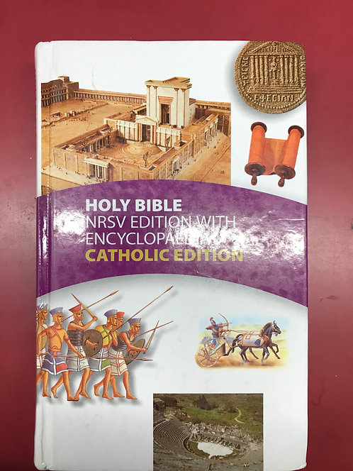 Holy Bible NRSV Edition with Encyclopaedia Catholic Edition (SECOND HAND)