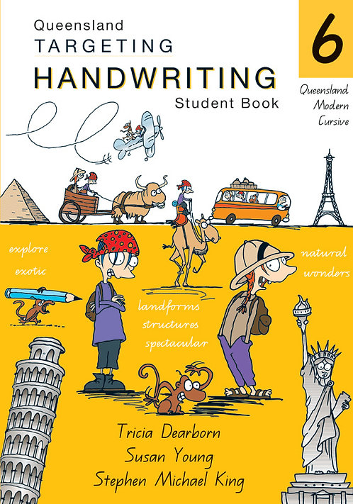 Targeting Handwriting: QLD Year 6 Student Book