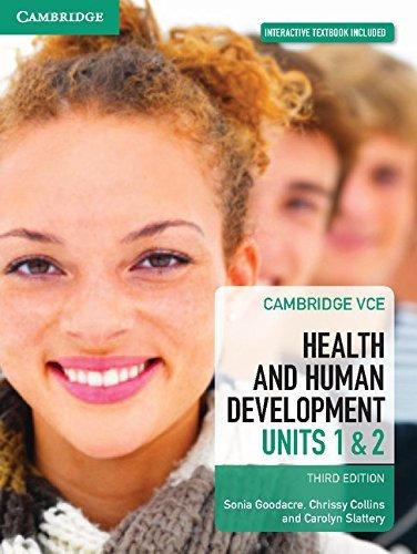 Cambridge VCE Health and Human Development Units 1&2 3E ((PRINT + DIGITAL)