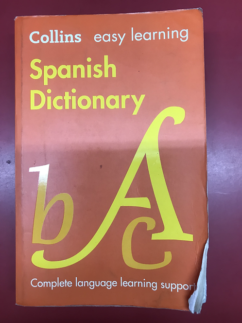 Collins easy learning Spanish Dictionary 7E (SECOND HAND)