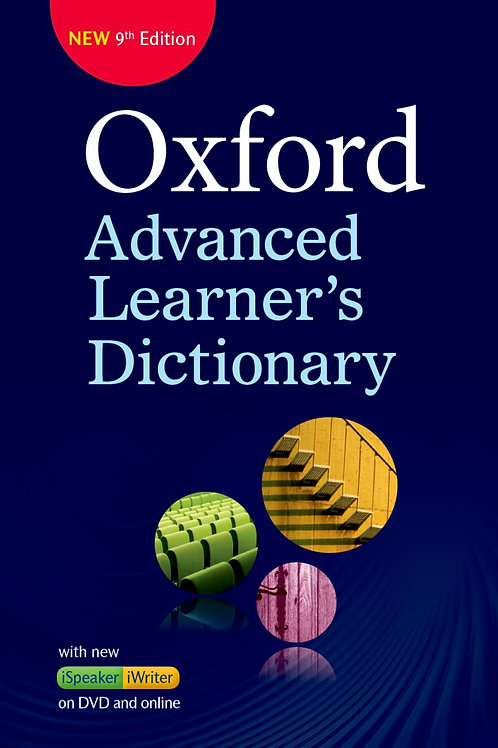 Oxford Advanced Learners Dictionary Paperback + DVD-ROM With online access 9E