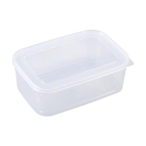 1X 1.5L Clear Container 22cm x 8cm x 16cm