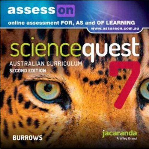 Jacaranda Science Quest 7 for the Australian Curriculum 2E AssessON (DIGITAL)