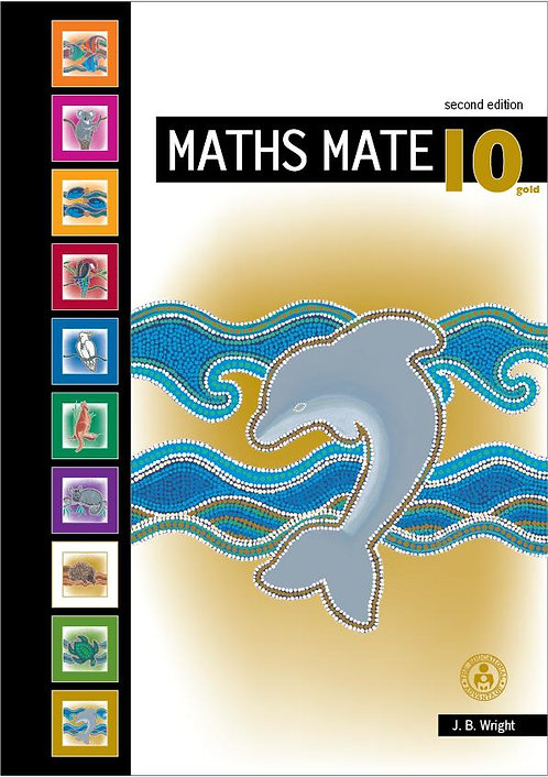 Maths Mate 10 Gold Student Pad 2E