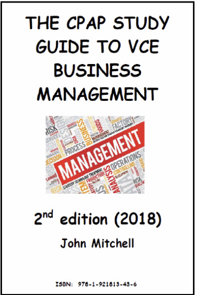 The CPAP Study Guide  to VCE Business Management 2E