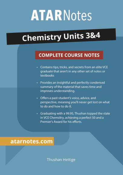 ATARNotes Chemistry Complete Course Notes Units 3&4