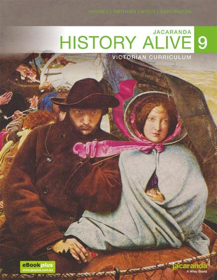 Jacaranda History Alive 9 Victorian LearnON & Print + World History Atlas