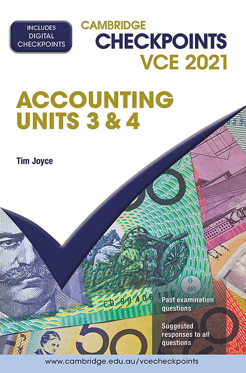 Cambridge Checkpoints VCE Accounting Units 3&4 2021