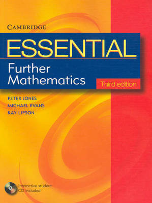 Essential Further Mathematics 3E with Student CD-Rom