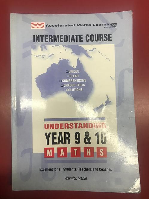 Understanding Year 9 & 10 Intermediate Maths (SECOND HAND)