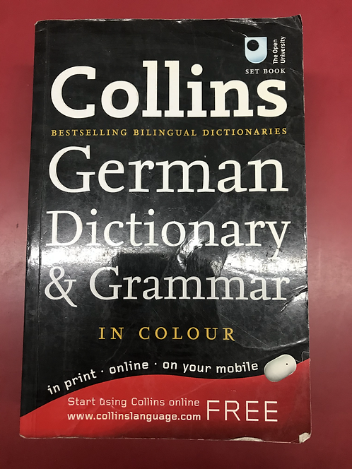Collins German Dictionary and Grammar 5E (SECOND HAND)