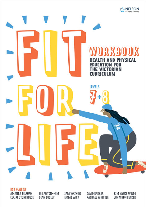 Nelson Fit for Life! Victorian Curriculum Years 7&8 Workbook 2E