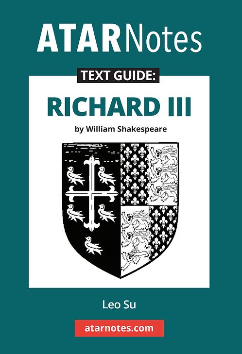 ATARNotes Text Guide: Richard III