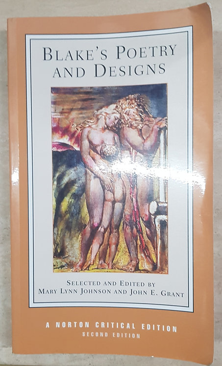 Blake's Poetry and Designs (SECOND HAND)