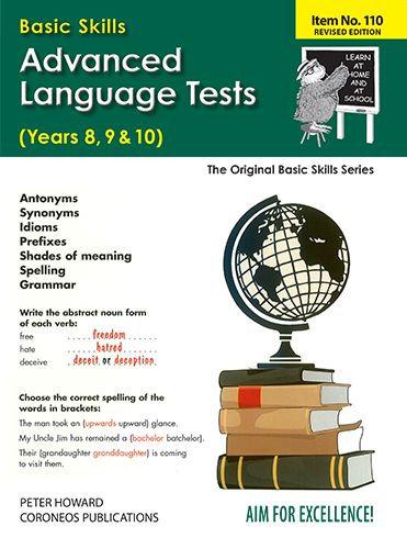 Advanced Language Tests Yrs 8 - 10 (Basic Skills No. 110)