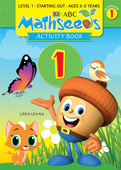 ABC Mathseeds Activity Book 1