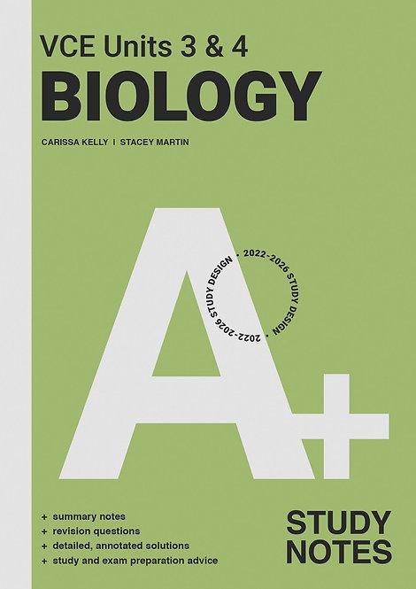 A+ Biol Notes VCE Unit 3&4 (PRINT)