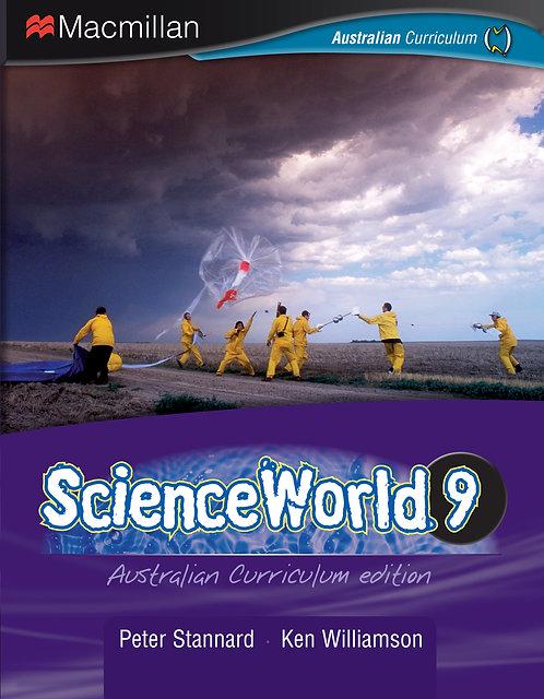 Macmillan ScienceWorld 9 Australian Curriculum Student Book + Workbook Pack 4E