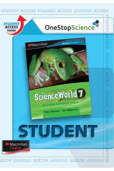 Macmillan ScienceWorld 7 Australian Curriculum Digital Book 4E (DIGITAL)