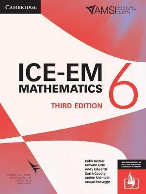 ICE-EM Mathematics Year 6 3E (PRINT + DIGITAL)