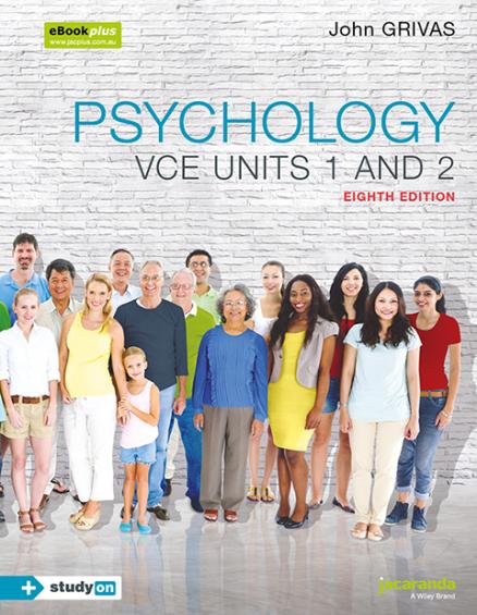 Psychology VCE Units 1&2 8E eBookPLUS (DIGITAL)