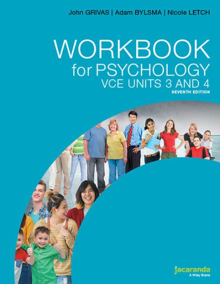 Jacaranda Workbook for Psychology VCE Units 3&4 7E