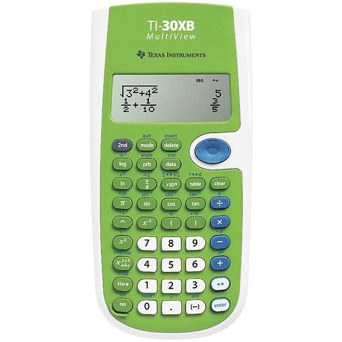 Texas Instruments Scientific Calculator TI-30XB Multiview