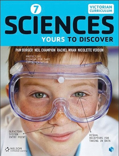 Nelson Sciences 7: Yours to Discover Print + 4 Access Codes (PRINT + DIGITAL)
