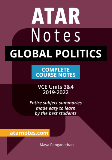 ATARNotes Global Politics Complete Course Notes Units 3&4
