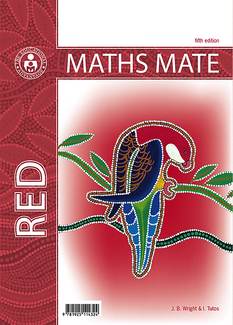 Maths Mate 6 Red Student Pad 5E