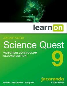 Jacaranda Science Quest 9 2E Victorian Curriculum LearnON + AssessON (DIGITAL)