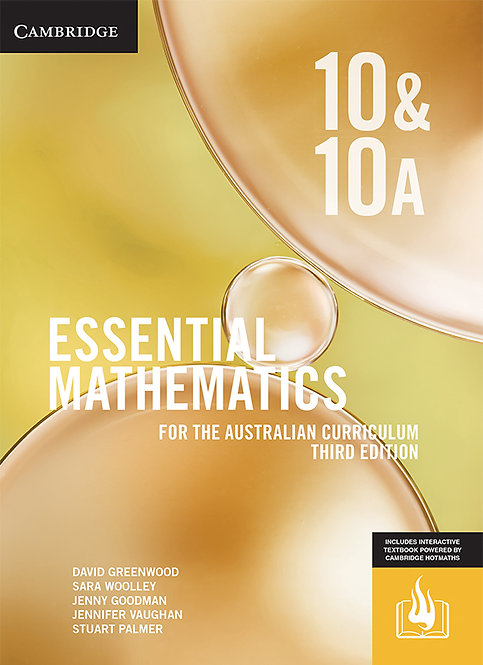 Essential Mathematics for the Australian Curriculum Year 10 3E (DIGITAL)