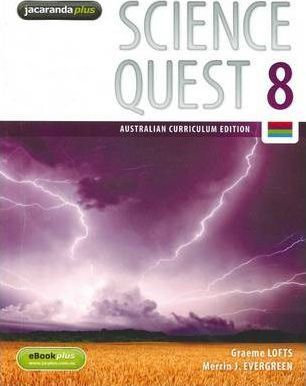 Science Quest 8Australian Curriculum Edition & eBookPLUS + Workbook + AssessOn