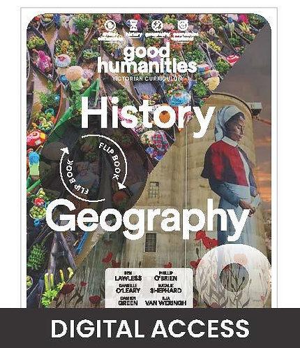 Good Humanities 9 Victorian Curriculum DIGITAL