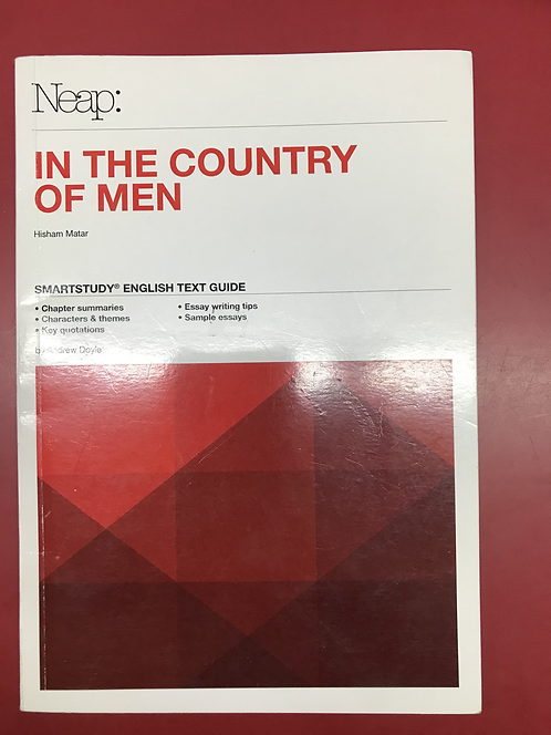 NEAP Smartstudy Guide: In the Country of Men (SECOND HAND)