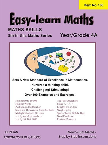 Basic Skills - Easy Learn Maths 4A (Basic Skills No. 136)
