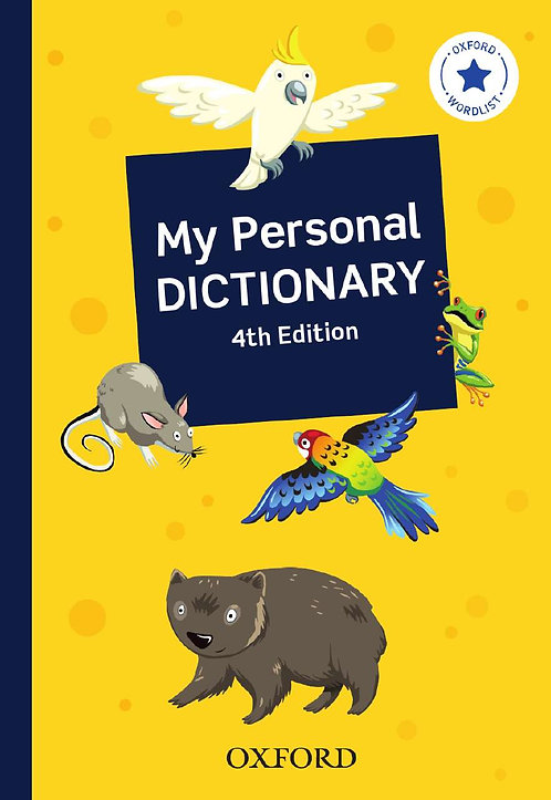 My Personal Dictionary National 4E