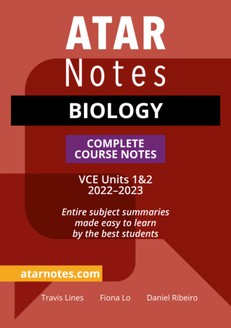 ATARNotes Biology Complete Course Notes Units 1&2 (2022-2023)