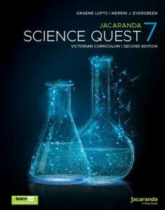 Jacaranda Science Quest 7 2E Victorian Curriculum (PRINT + DIGITAL)