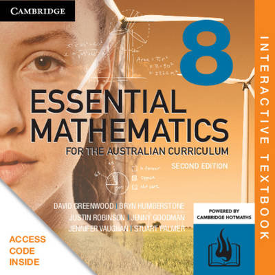 Essential Mathematics for the Australian 8 2E Interactive Text (DIGITAL)