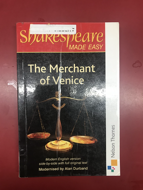 Shakespeare Made Easy: The Merchant of Venice (SECOND HAND)