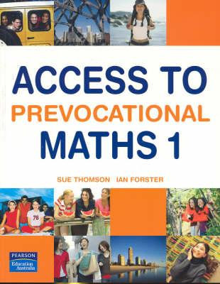 Access to Prevocational Maths 1 2E