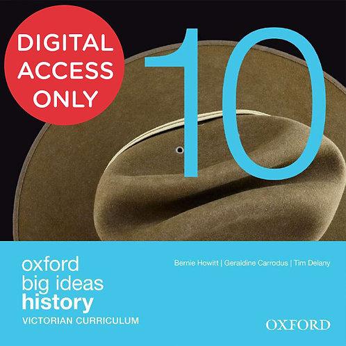 Oxford Big Ideas History 10 Victorian Curriculum oBook assess (DIGITAL)