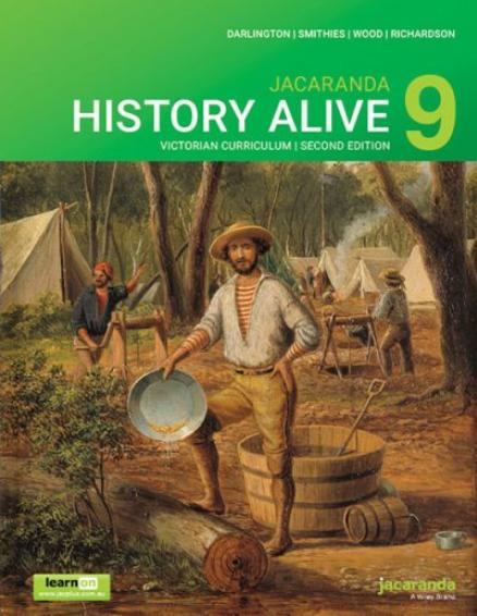 Jacaranda History Alive 9 2E Victorian Curriculum (PRINT + DIGITAL)