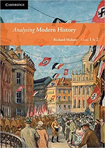 Analysing Modern History Units 1&2 (DIGITAL)