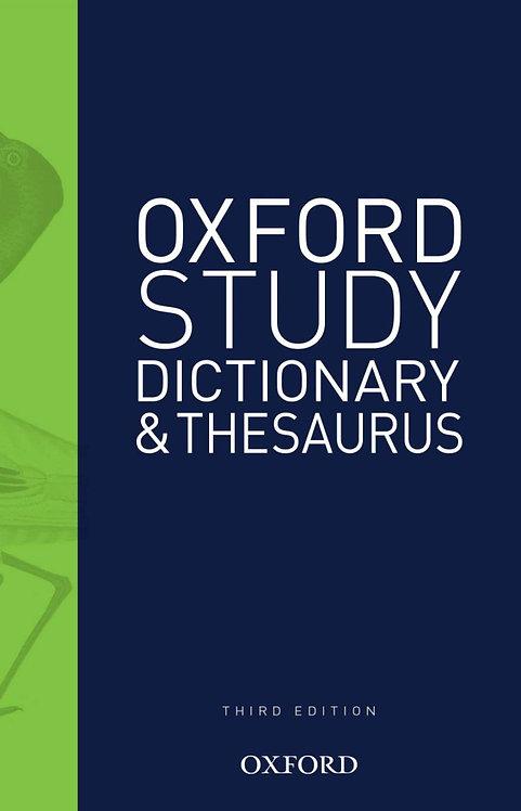 Oxford Study Dictionary & Thesaurus 3E