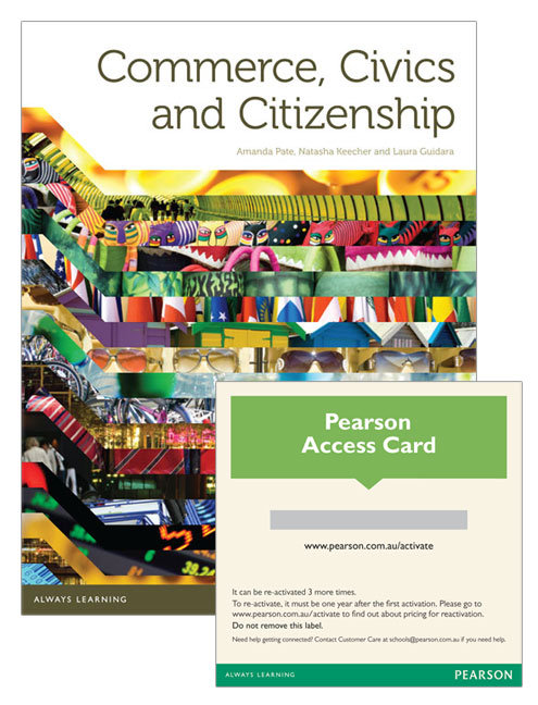 Commerce, Civics and Citizenship Student Book with Reader 1.0 (PRINT + DIGITAL)