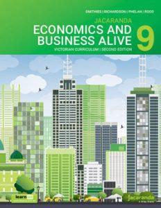 Jacaranda Economics and Business Alive 9 Victorian Curriculum 2E (DIGITA