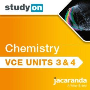 StudyOn VCE Chemistry Units 3&4 3E (DIGITAL)