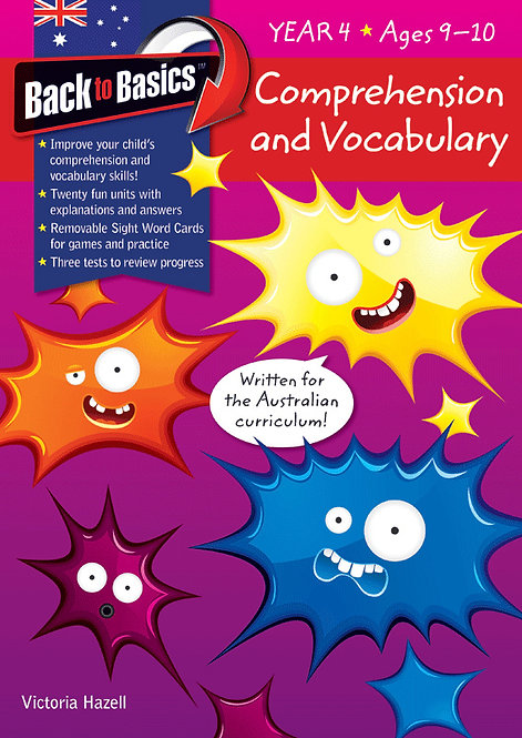 Back to Basics Comprehension & Vocabulary Year 4